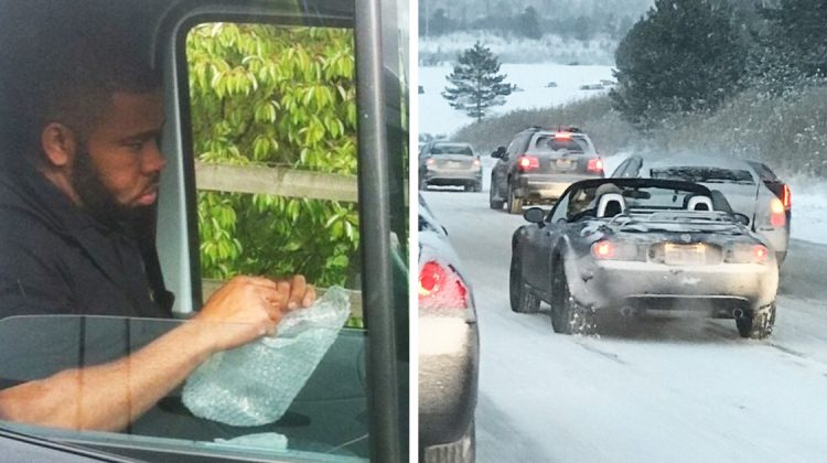 10 photos de trucs hilarants et bizarres vus sur la route Quotes