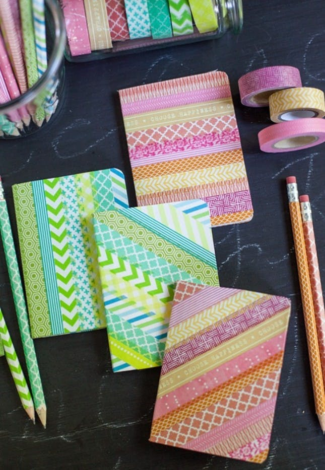 Do you know these 24 adorable ways to add colour at home using washi tape? All Posts